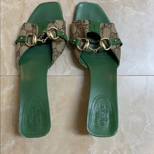 gucci mules heels